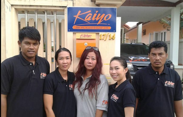 Kaiyo Window Film Staff